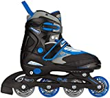 Nijdam Kinder Semi-Softboot Inlineskates Junior Verstellbar