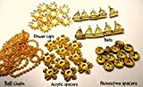 Jewellery decorators bails, spacers,ball...