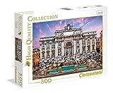 Clementoni 35047 - Puzzle Fontana di Trevi