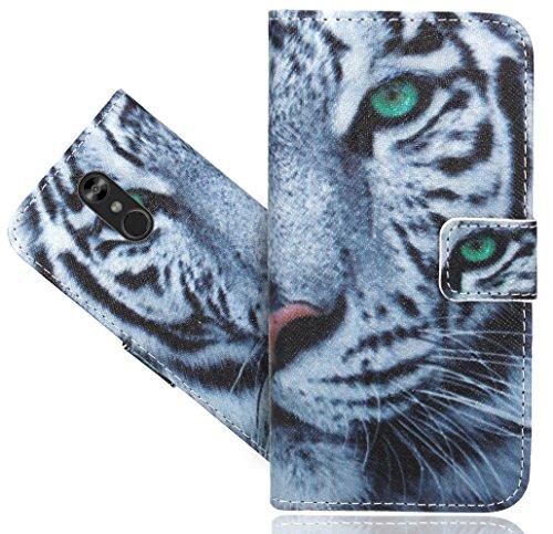 LG Stylo 4/LG Q Stylus Handy Tasche, FoneExpert Wallet Case Flip Cover Hüllen Etui Hülle Ledertasche Lederhülle Schutzhülle Für LG Stylo 4/LG Q Stylus