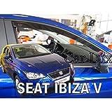 Viento desviadores delanteras y traseras tintadas 4 un se adapta a Seat Leon 5 puertas 2006 /> MK2 UE realizó
