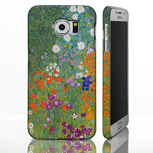 Schutzhüllen, für die Samsung Galaxy-Reihe, mit Motiven aus der klassischen Kunst Gemälde berühmter Künstler, plastik, Bauerngarten & Sonnenblumen - Gustav Klimt, Galaxy S6