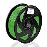 SIENOC 1 paquete de filamento impresora 3D PLA 3.00mm Impresora - Con 1 kg de carrete (Verde)