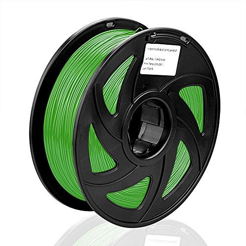 SIENOC SIENOC 1 Packung 3D Drucker PLA 3.00mm Printer Filament - Mit Spule 1kg (Grün)