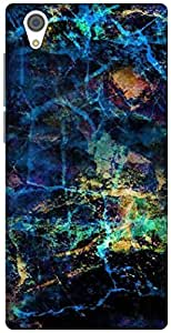The Racoon Grip CRUMPLED COLORS hard plastic printed back case / cover for Vivo Y51