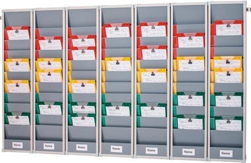Eichner Organisation GmbH & Co. KG Planungstafel 5 Segmente B1700xH1282xT78mm inkl. Wandprofil f. DIN A4