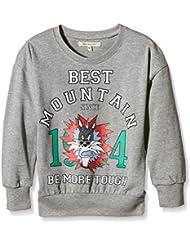 Best Mountain Girl Imprime, Sweat-Shirt Fille
