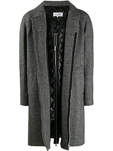 MAISON MARGIELA Luxury Fashion Uomo S50FZ0005STN885002F Multicolor Cappotto | Autunno Inverno 19