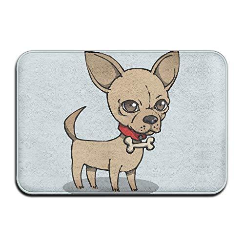 Pengyong Cartoon Chihuahua Hund Outdoor Teppich Gummimatte Einstieg vorne Fußmatten Veranda Garage...