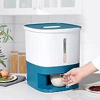 NAIXUE Grande boîte de rangement hermétique pour riz - Capacité de 10 kg - Avec couvercle - Cylindre de mesure…