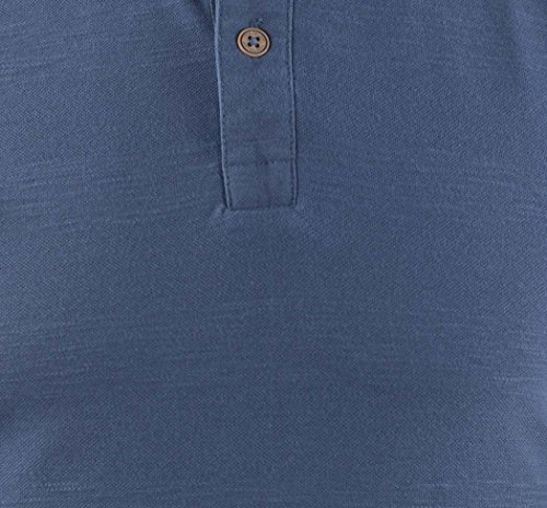 TOM TAILOR Herren Poloshirt Blau (Black Iris Blue 6740)