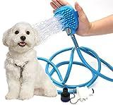 SMARTRELOADER Smart Sisi Pet Baden Werkzeug, Pflege Bad Massagegerät Shampoo Bürste für Hund oder Katze, verstellbar Handheld Spritze
