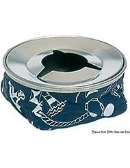 Posacenere acciaio inox rosso English: S.S ashtray Aquameter red