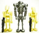 LEGOStar Wars–Juego de 3Battle droides con armas