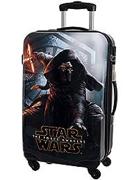 Star Wars The Force Awakens Maleta Mediana Rígida, 53 Litros, Color Negro