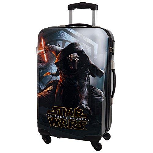 Star Wars The Force Awakens Valise, 67 cm, 53 L, Noir