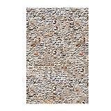 Homyl 3D Vintage PVC Holzoptik Steinoptik Betonoptik Tapete Wandverkleidung - Vintage Brick