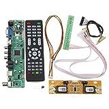 MYAMIA V56 Universale Tv Lcd Driver Scheda Pc/Vga/Hd/Usb Interfaccia + 4 Lampada Inverter + 30Pin 2Ch - 8 Bit