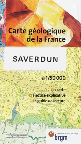 Carte géologique : Saverdun par Cartes BRGM
