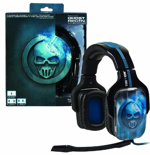 Headset Tom Clancy's Ghost Recon Future Soldier 7.1 Surround (Ghost Recon-kopfhörer)