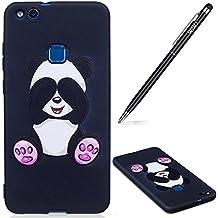 Huawei P10Lite móvil, Huawei P10Lite silicona teléfono móvil, Großer Panda
