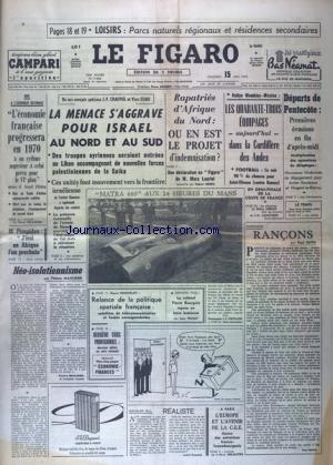 FIGARO (LE) [No 7982] du 15/05/1970