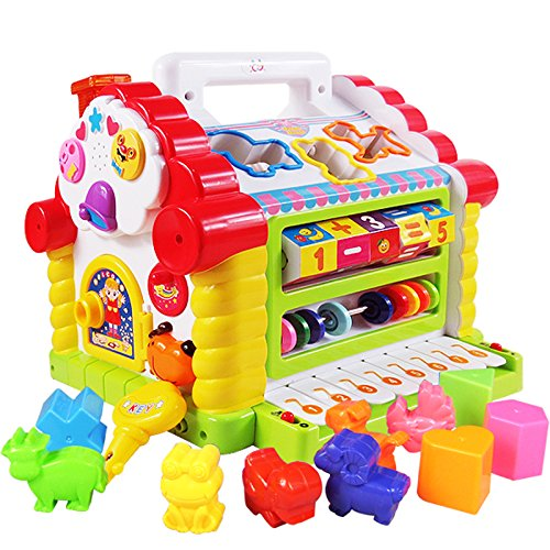 Huile Toys Colorful And Attractive Funny Cottage Educational Toy For Children