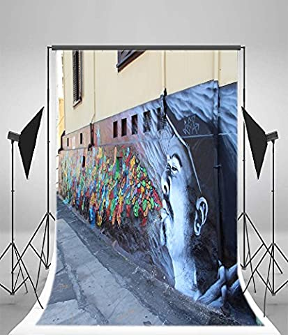 Aaloolaa Photographie 1x 1.5m Vinyle artistique arrière-plans Photo prise de