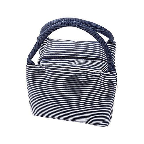 WAWJ Mittagessen Tasche Büro Isoliert Damen Mittagessen-Einkaufstasche Beutel-im Freienwerkzeug (Blau) - Mittagessen-tasche Sport