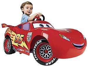 Feber - 800007110 - Vélo et Véhicule pour Enfants -Cars 2 Flash Mc Queen 6V