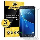 NearPow [3 Pack Protector de Pantalla para Samsung Galaxy J7 2016 Cristal Vidrio Templado [9H...