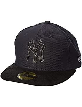 Gorra New Era New York Yankees Suede Diamond Azul Navy/Gray/Black Talla:talla única