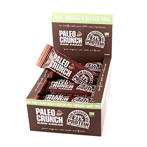 Barritas Ecológicas Proteicas Paleo - Cacao (caja de 12x48g)