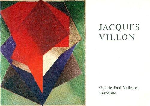 Hommage à Jacques Villon (1875-1963). Huiles, aquarelles et dessins par VILLON Jacques