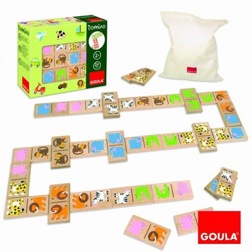 GOULA - DOMINO  PACK DE 28 PIEZAS  DISEñO ZOO (DISET 50266)