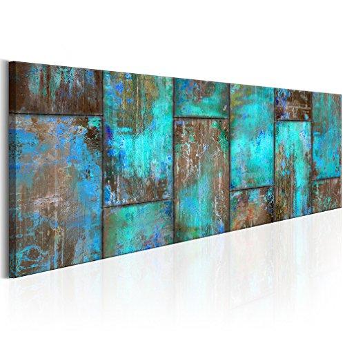 decomonkey Bilder Abstrakt 150x50 cm 1 Teilig Leinwandbilder Bild auf Leinwand Wandbild Kunstdruck Wanddeko Wand Wohnzimmer Wanddekoration Deko Modern
