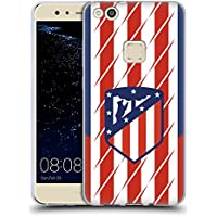 Official Atletico Madrid Home 2017/18 Crest Kit Soft Gel Case for Huawei P10 Lite