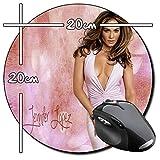 Jennifer Lopez JLo B Tapis De Souris Ronde Round Mousepad PC