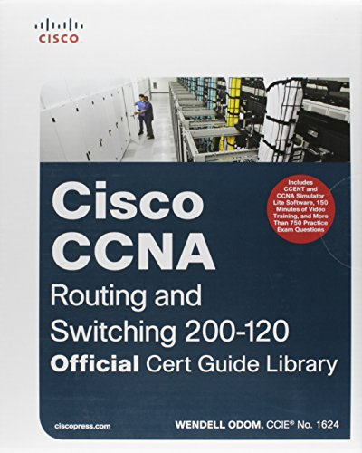 CCNA Routing and Switching 200-120 Official Cert Guide Library por Wendell Odom