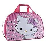 Hello Kitty Sanrio Charmmykitty Große Übernachtungstasche mit Erhöhtem Motiv
