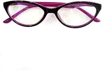 Partap Opticals Unisex Cat Eye Spectacle Frame (Pink) P6