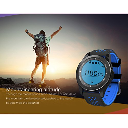 Padgene Upgrade Version F3 Sports Smart Watch Waterproof IP68 Swimming Watch Bluetooth 40 With Pedometer Sleep Monitor Calorie Burnning Plus With Music Control Message Remind Anti Lost