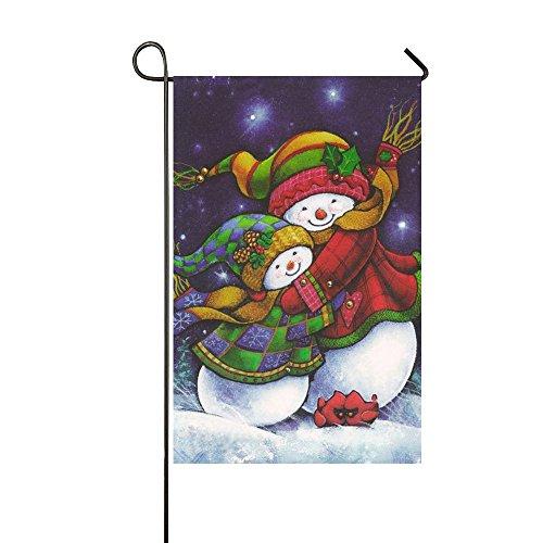 Small Mim Klein MIM Happy Valentine 's Day Sweet Rot Hearts to You Garten Flagge Urlaub Dekoration doppelseitig Flagge 31,8x 45,7cm, Textil, Mom Snowman Hug Baby Snowman, 12.5x18 Inch - Happy Day Mom Valentines