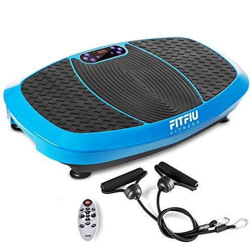 Fitfiu PV-200 Azul Plataforma Vibratoria, Talla Única