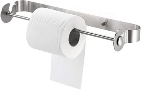 Porta Asciugamani di Carta Blusea Portarotolo Cucina da Parete Porta Rotolo Carta Bobina Asciugamani a Muro
