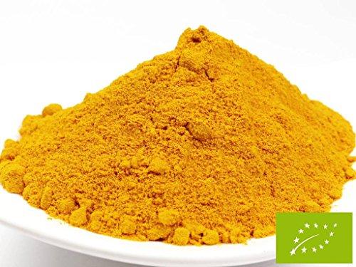 pikantum Bio Kurkumawurzel gemahlen aus Indien, 1000g, 1kg, Kurkumapulver