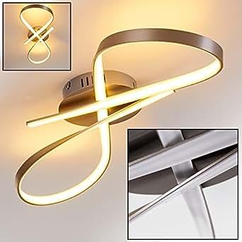 Modern led ceiling light elegant swirl light warm white for Living room 2700k or 3000k