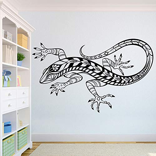 sanzangtang Eidechse schöne Wolf Wand Applique afrikanischen Wilden Löwen stolzes Tier nach Hause Innenarchitektur Art Office Wandhauptdekoration 63x103cm