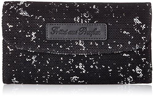 Fritzi aus Preussen Damen Heide Geldbörse, Silber (Silver), 4x11x19.5 cm
