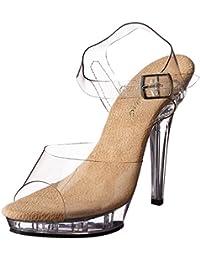 Zapatos transparentes formales Pleaser Allure para mujer 3rj2LxR